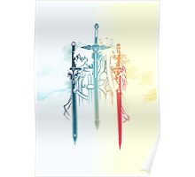 Sword Art Duo Poster