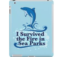 I Survived the Fire in Sea Parks iPad Case/Skin