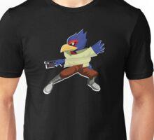 White Outline Falco Unisex T-Shirt