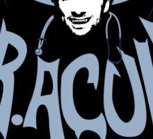 Dr. Acula! Sticker