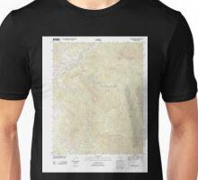 USGS TOPO Map California CA Case Mountain 20120229 TM geo Unisex T-Shirt