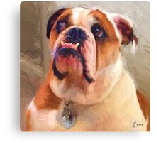 """""""Coco"""" Cropped Canvas Print"""