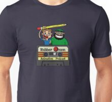 RubberOnion Animation Podcast cassette logo Unisex T-Shirt