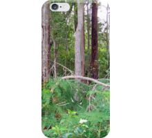 Forest Over the back fence iPhone Case/Skin