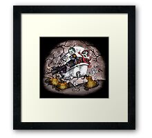 The Nightmare Before Christmas - Lock, Shock, and Barrel Framed Print