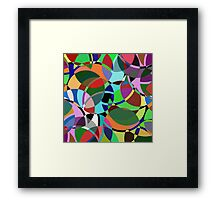 Pastel Pieces II Framed Print