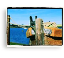 Prow of a boat Canvas Print