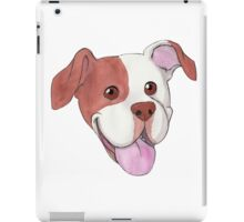 Happy Pit Bull iPad Case/Skin