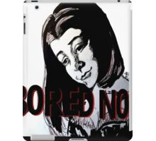 Bored now vampire Willow iPad Case/Skin