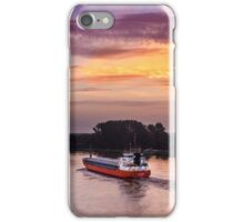 Sunrise on the Keil Canal iPhone Case/Skin