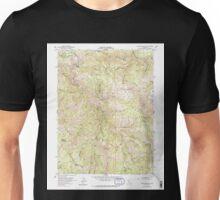 USGS TOPO Map California CA Blue Nose Mtn 288509 1951 24000 geo Unisex T-Shirt