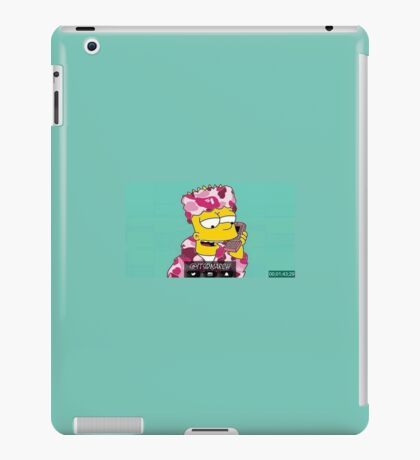 bart simpsons iPad Case/Skin