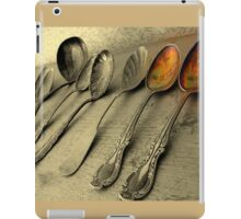 Just Add Two Tablespoons iPad Case/Skin