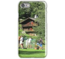golf a Macugnaga ----- il lancio -   iPhone Case/Skin