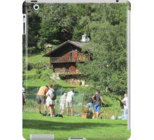 golf a Macugnaga ----- il lancio -   iPad Case/Skin