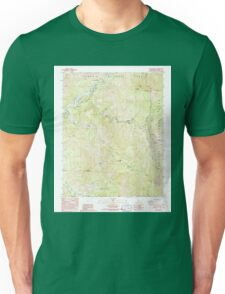 USGS TOPO Map California CA Case Mountain 289020 1987 24000 geo Unisex T-Shirt