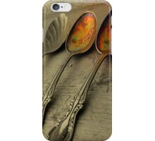 Just Add Two Tablespoons iPhone Case/Skin