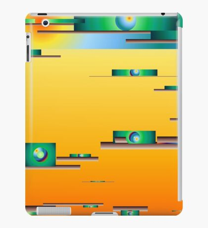 Rainbow Buildings iPad Case/Skin