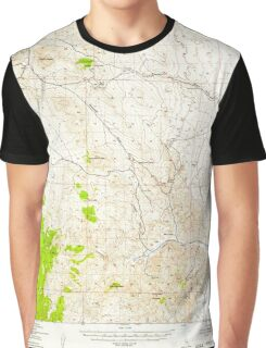 USGS TOPO Map California CA Cross Mountain 297241 1943 62500 geo Graphic T-Shirt
