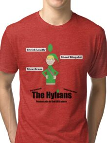 Crossover 11 - The Hylians Tri-blend T-Shirt