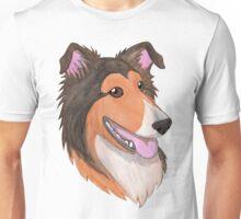 Happy Collie Unisex T-Shirt