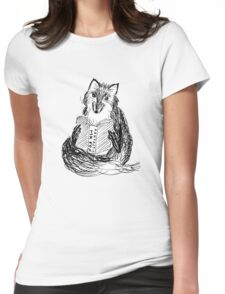A Reading Fox Womens Fitted T-Shirt