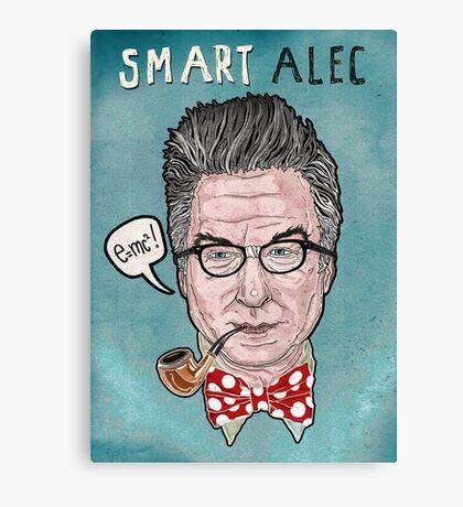 """""""Smart Alec"""" Baldwin Canvas Print"""