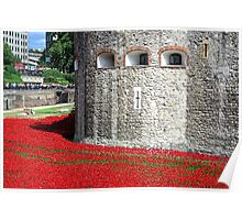 The Tower of London Remembers WWI Poster
