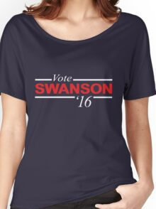 Vote Ron Swanson 2016 Women's Relaxed Fit T-Shirt