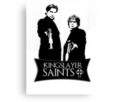 The kingslayer saints Canvas Print