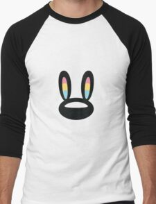 Pogo Space Bunny Black Men's Baseball ¾ T-Shirt