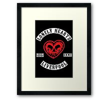Lonely Hearts Motorcycle Club - Beatles Framed Print