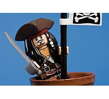 Lego Captain Jack Sparrow Photographic Print