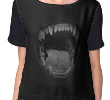 Teeth Chiffon Top