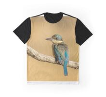 Afternoon Kingfisher Graphic T-Shirt