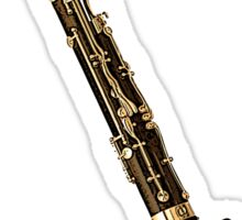 Bassoon or The Old Grandfather Sticker