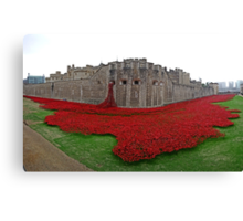 The Tower of London Remembers WWI Canvas Print