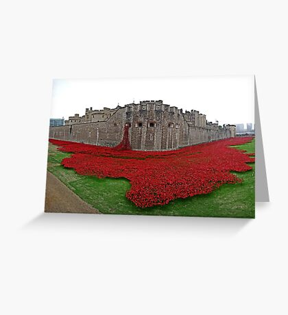 The Tower of London Remembers WWI Greeting Card