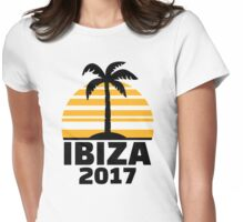 Ibiza 2017 Womens Fitted T-Shirt