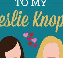 Ann & Leslie Sticker