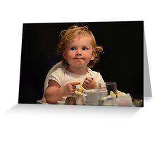 A bit messy Mom !!!  Greeting Card