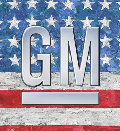General Motors. Sticker