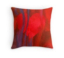 Heart Painting 10-20-16 Throw Pillow
