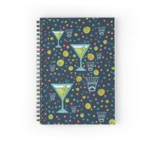 Martini Party Spiral Notebook