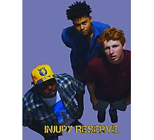 Injury Reserve - Look up. Photographic Print