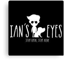Ian's eyes Canvas Print