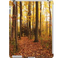 Woods In Autumn iPad Case/Skin