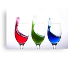 Primary colours Canvas Print