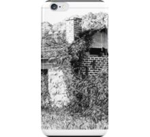 Old derelict shed iPhone Case/Skin