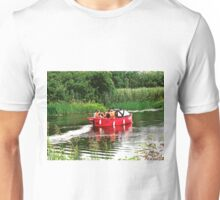Red Boat - Enniskillen, Derry, Northern Ireland Unisex T-Shirt